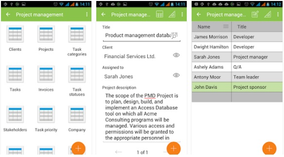 MobiDB Project Management
